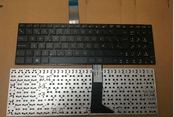 WJY Espa/ñol Teclado de Repuesto port/átil para ASUS K55XI A55V A55a A55N A55DE A55VM A55VD A55VJ A55VS MP-11G36E0-528 9Z.N8SSQ.10S US1SQ 0S EN ESPA/ÑO SP Layout Laptop Replacement Keyboard